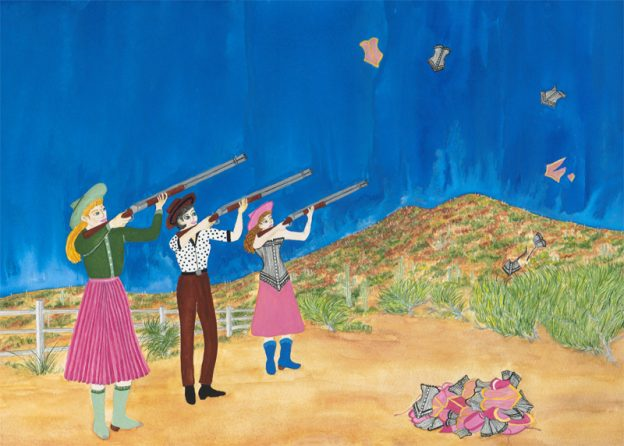 Annie Oakley and Friends Shoot Down Oppression