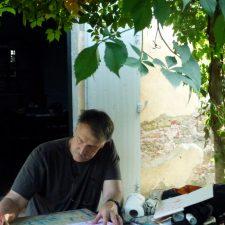 Photo of artist David A Haughton