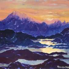 Island Paintings II - Landscapes of the Pacific Northwest Coast