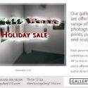 Small Works Holiday Sale 12/2020